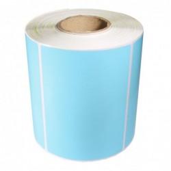 Däcketikett 105x74 blå (450)