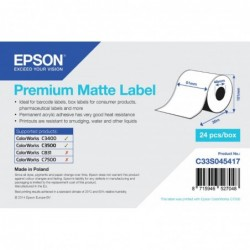 Epson label roll 51mm x 35m