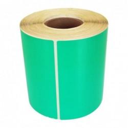 Däcketikett 105x74 grön (450)