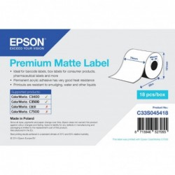 Epson label roll 76mm x 35m