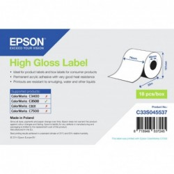 Epson label roll 76mm x 33m...